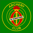 St Dunstans Archery Club badge 1977 to 2013