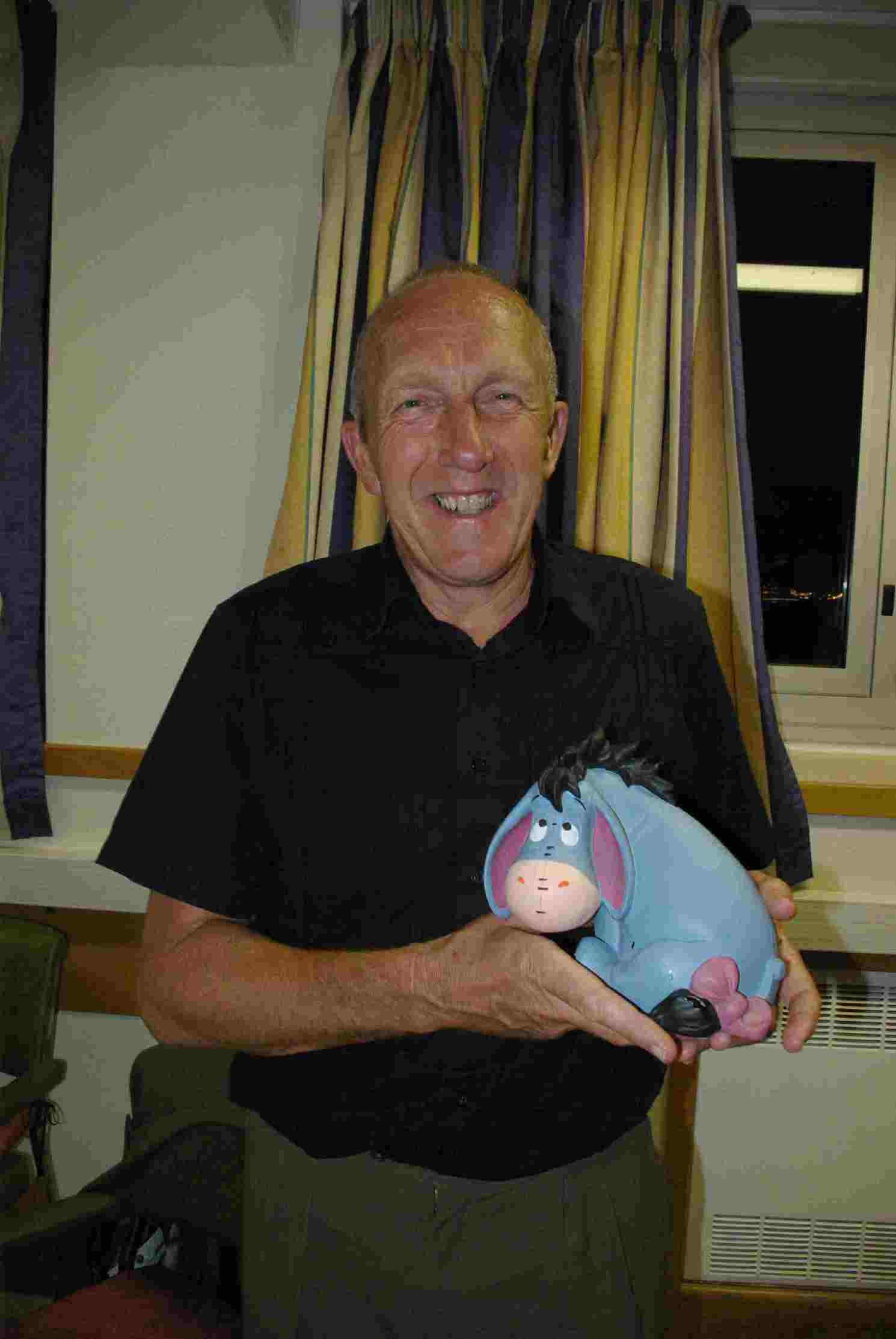 picture of Brian and Eeyore